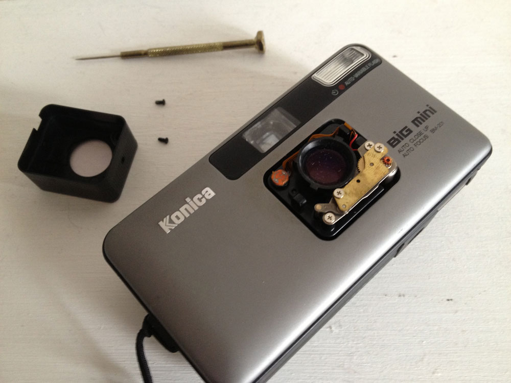 Konica Big mini repair