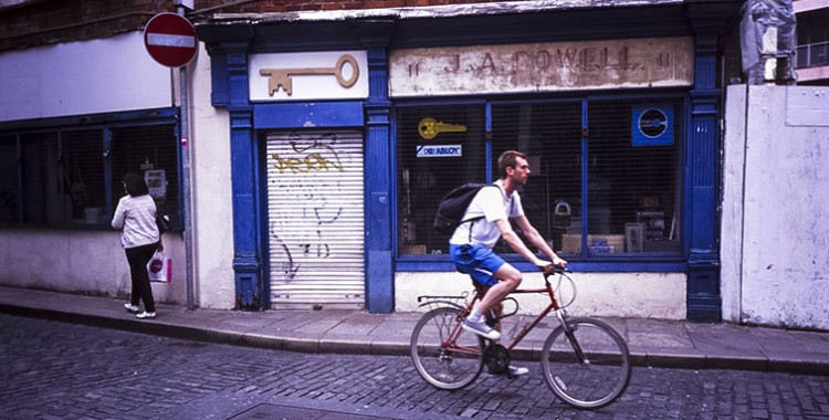 The Traveling Yashica: Antonella Guarracino, Dublin