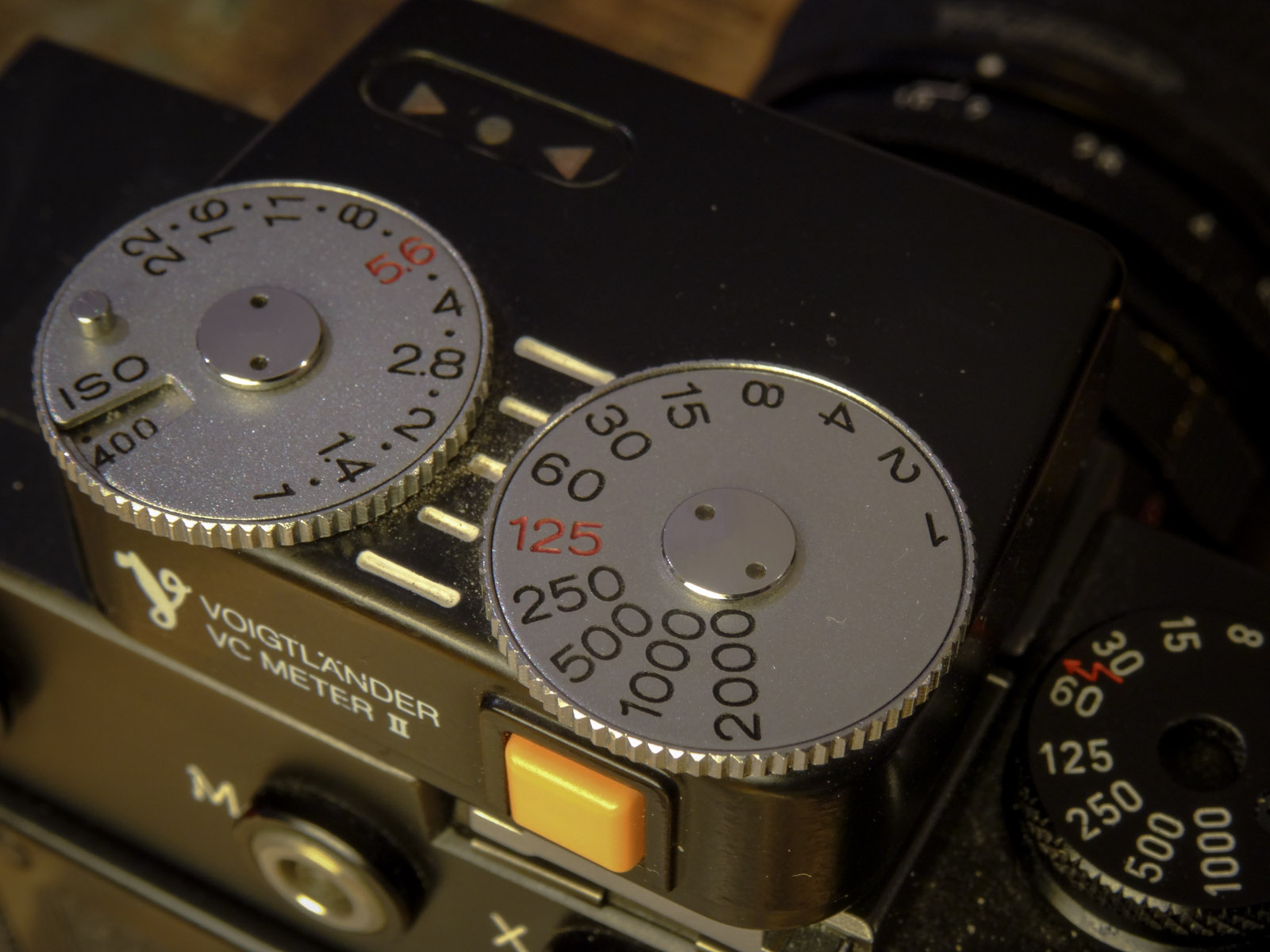 Voigtlander VCii Light Meter