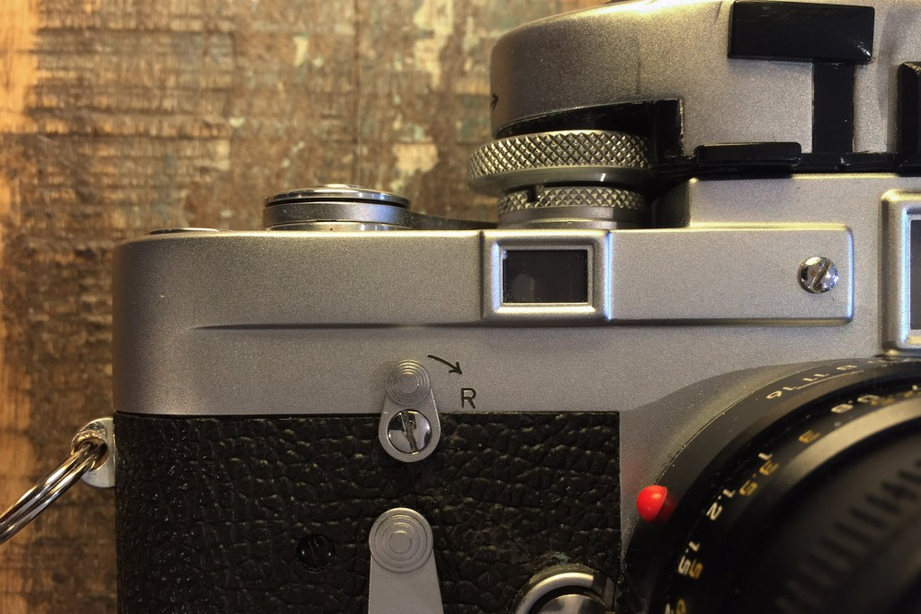 Leica M3 rangefinder window