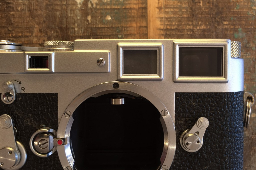 Leica M3 front