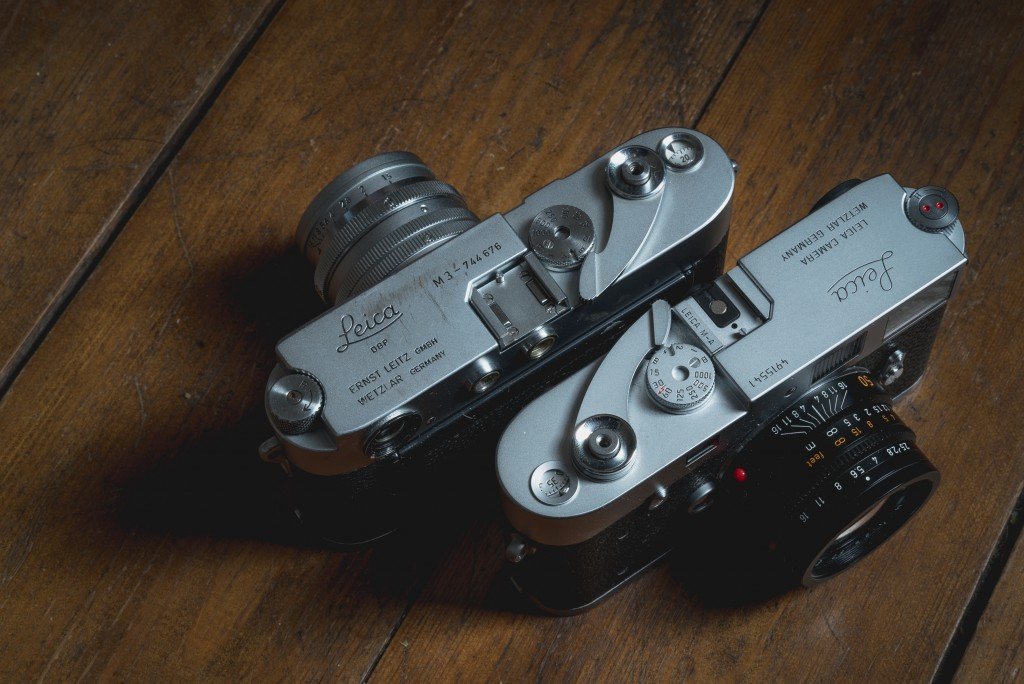 Leica M3 DS and M-A