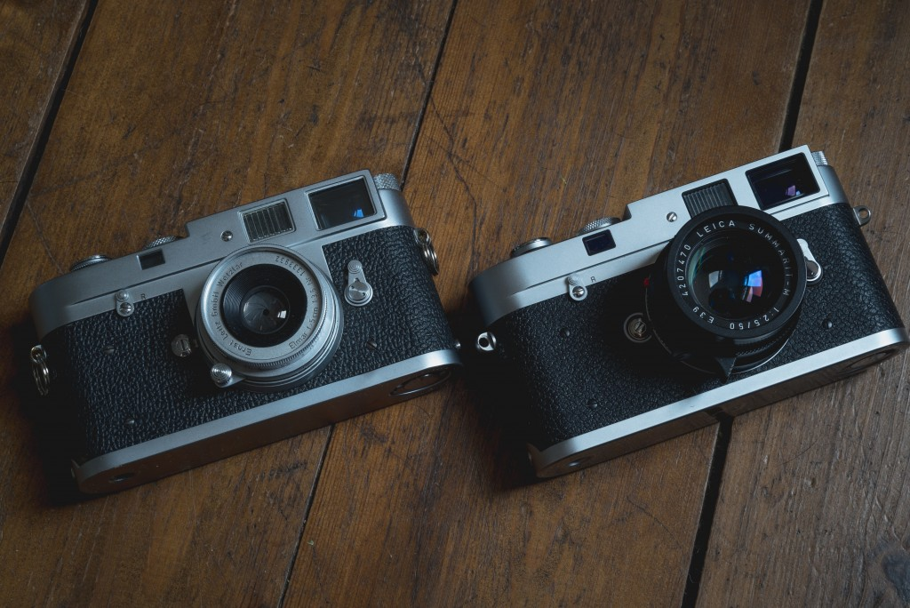 Leica M2 and M-A