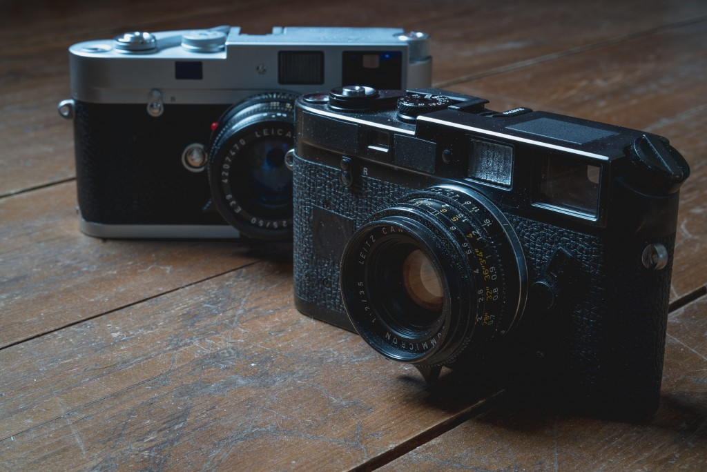 The Leica M-A and M4-P