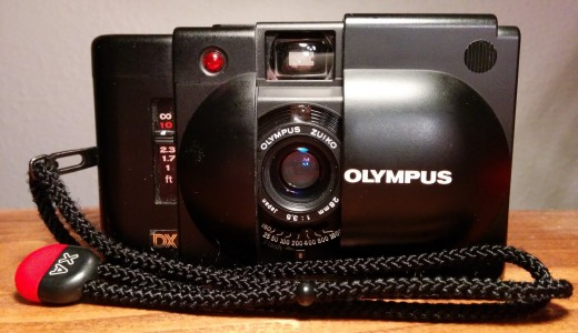 Photo of Olympus XA4 camera