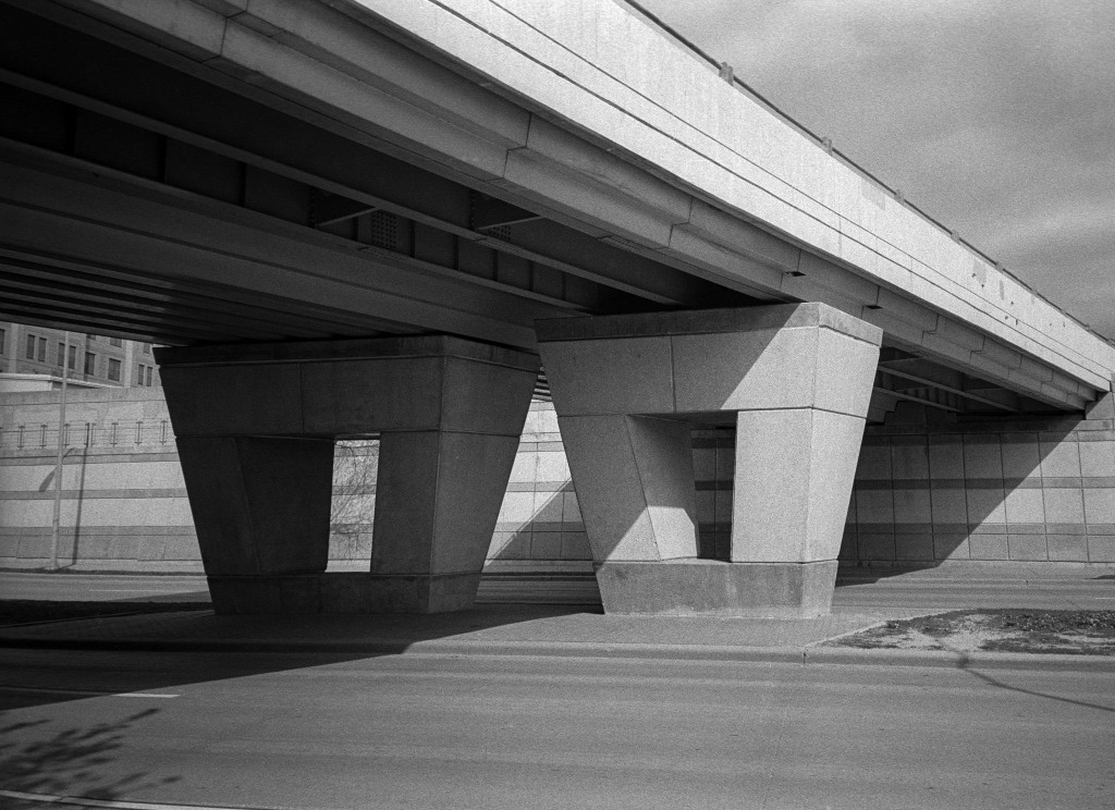 Photo of an overpass in Madison,WI.