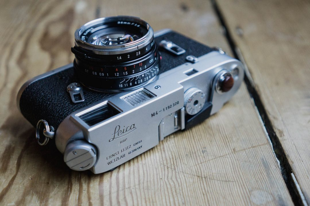 The Leica M4 - 35mmc