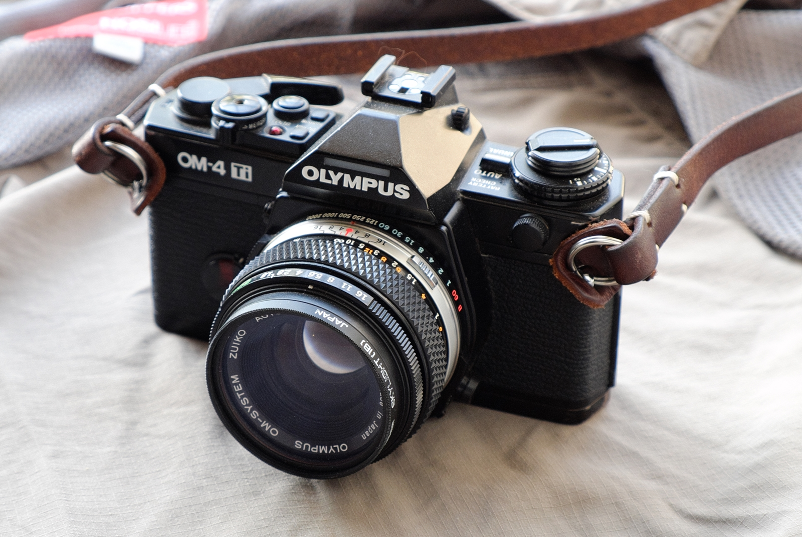 The Olympus OM4Ti – a 'compact' SLR Camera – Guest post by Guy
