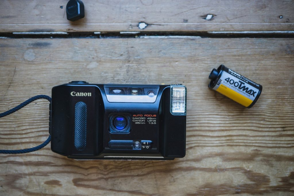 Canon Sprint - A fully automatic film camera