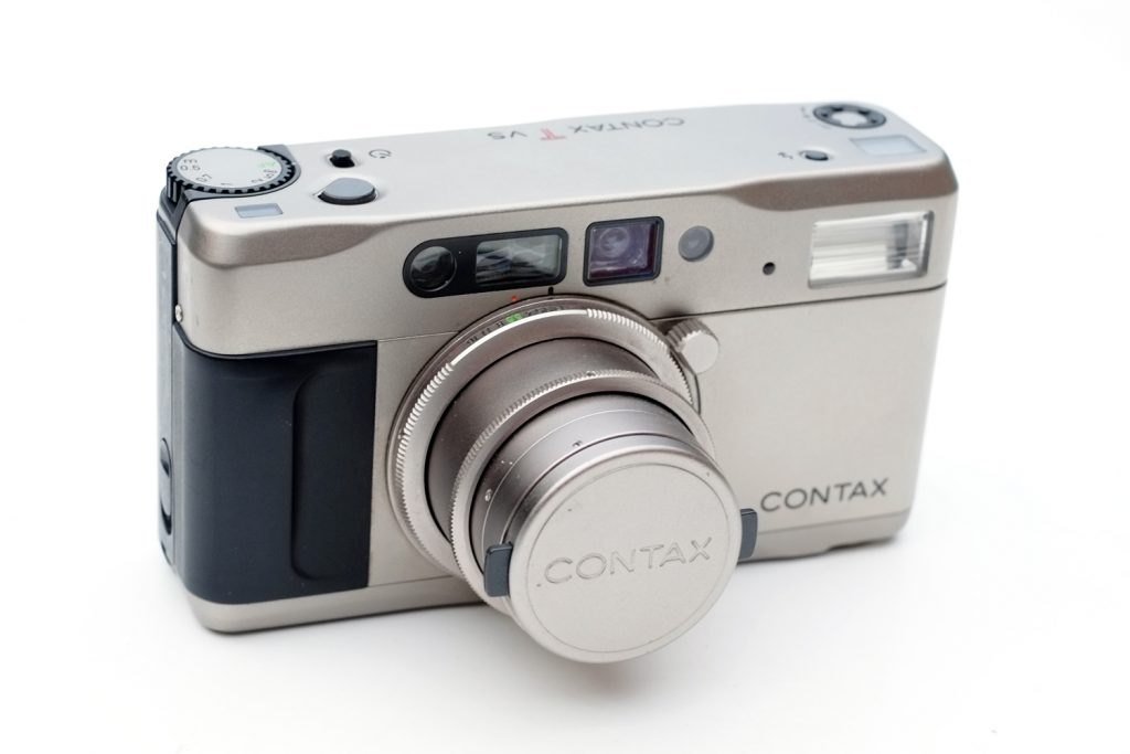 Contax TVS - Lens extended