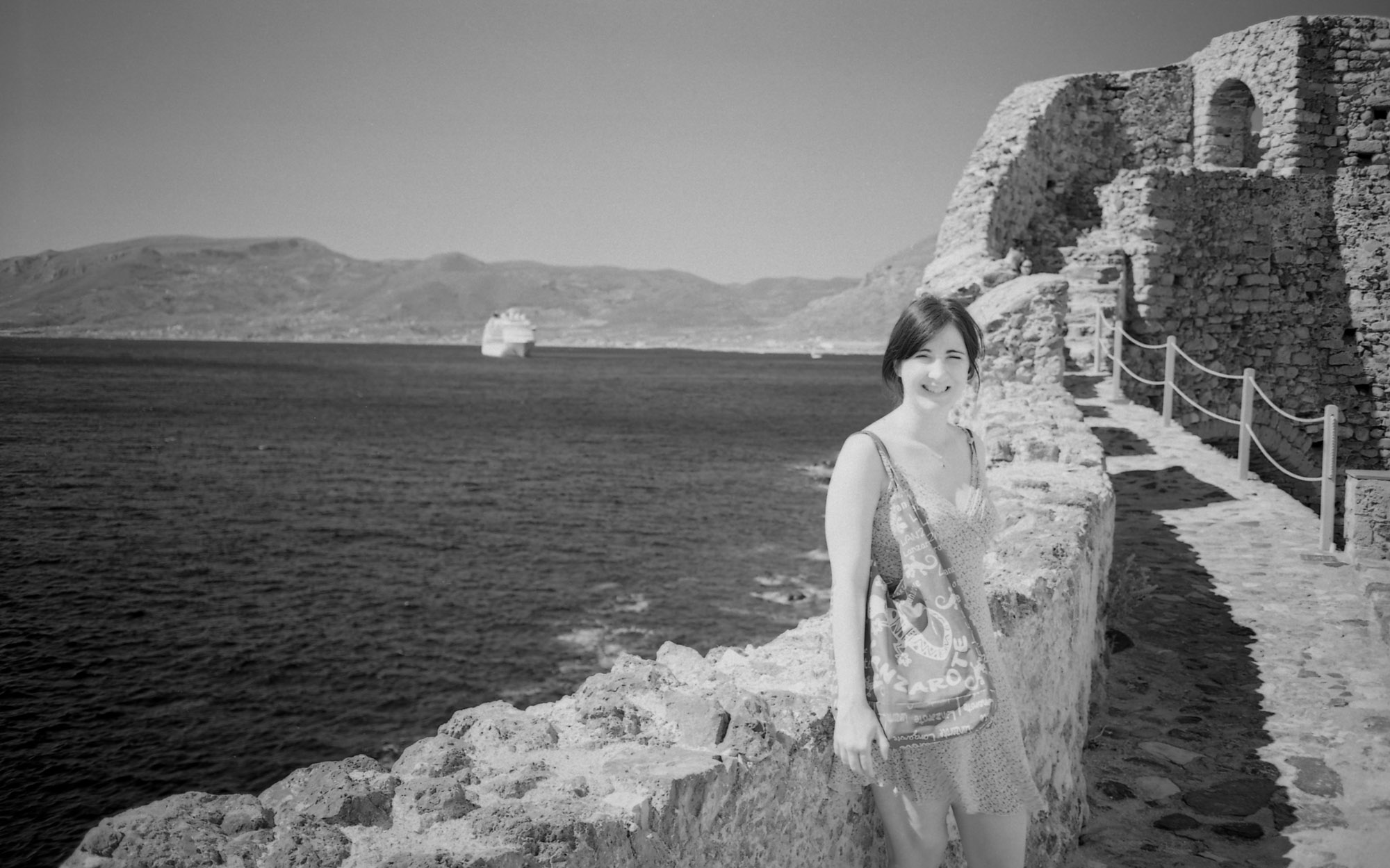 This one shows the pale skin typical of IR film.