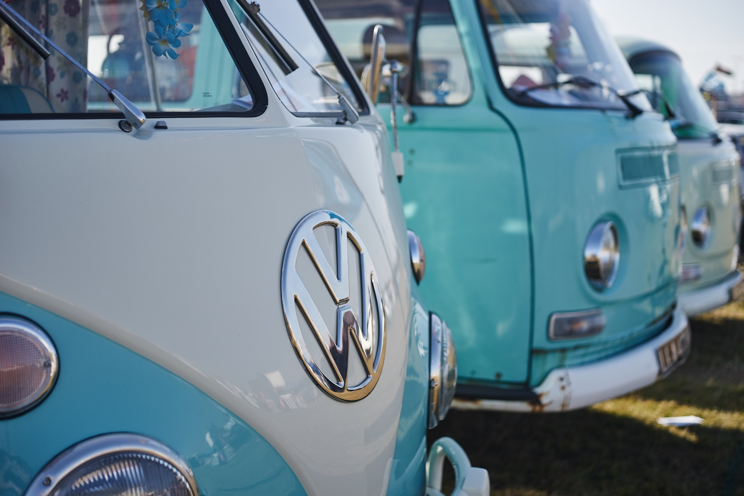 Beach Buggin' event, Southsea, UK - taken with Industar N-61 lens on Sony a7