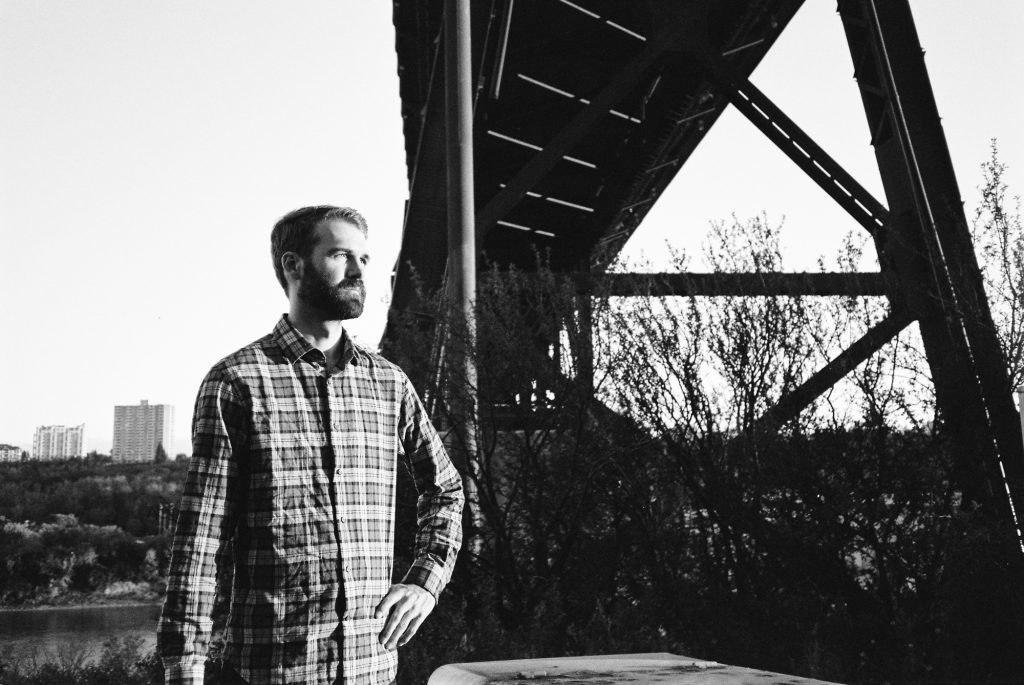 Scotty Under The High Level Bridge - TMax 400