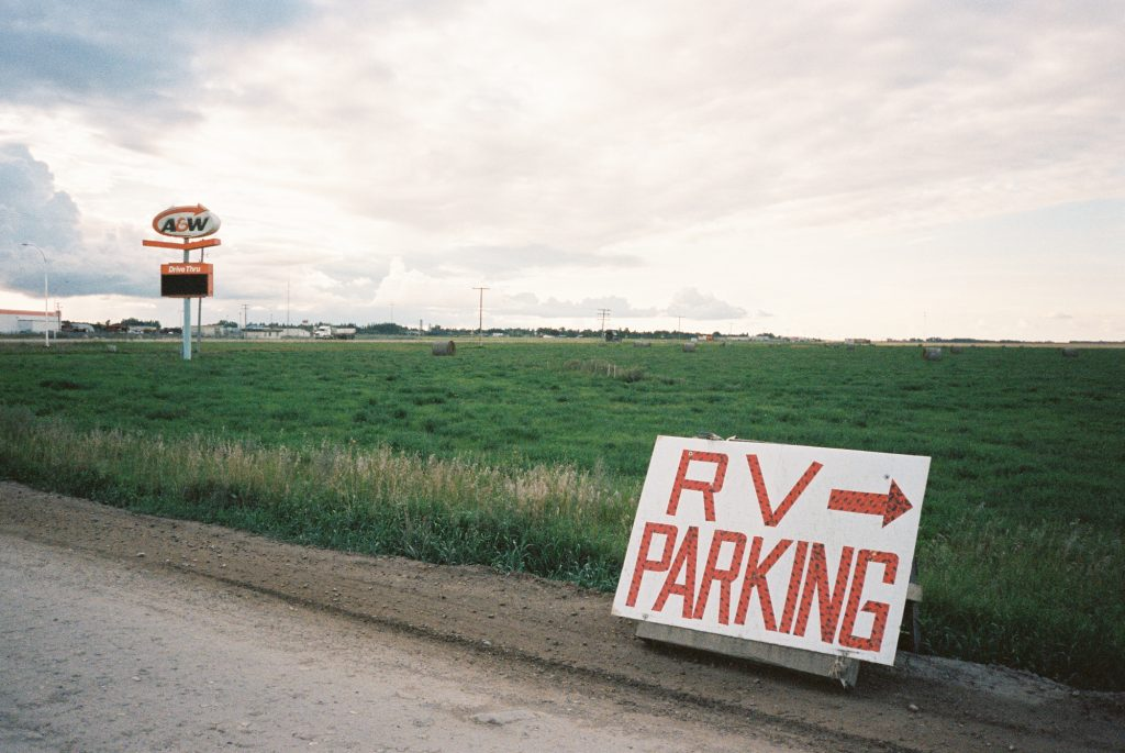 RV Parking - Portra 400