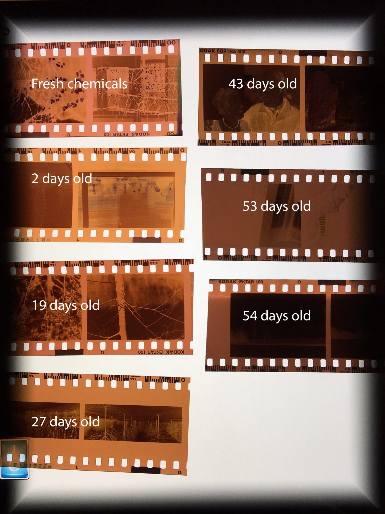 Experiments In Developing Colour Film At Home The Chemicals Dilemma