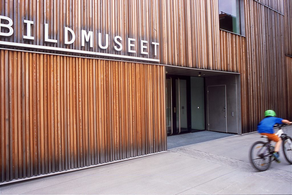 Image of the Bildmuseet museum in Umeå.