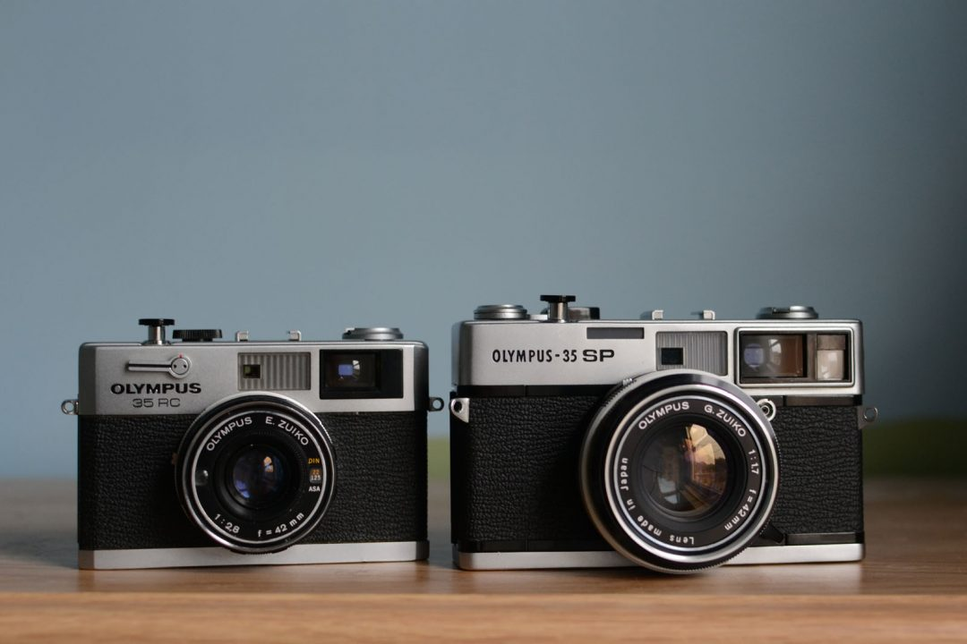 Twins The Olympus 35 Sp Vs Olympus 35 Rc By Matt Parry