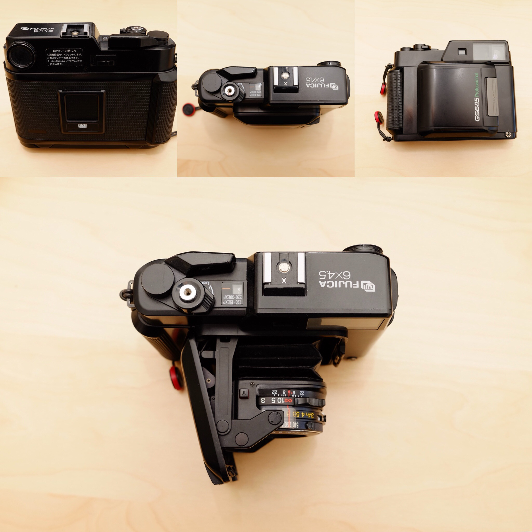 The GS645 from different angles