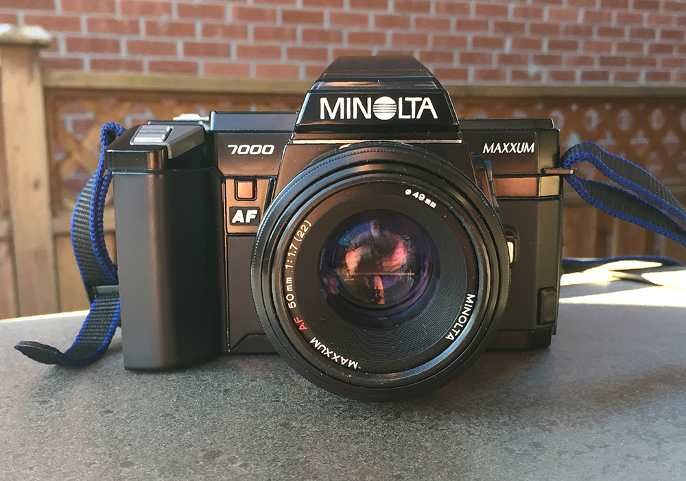 I Was Recently Looking For Another 35mm Camera And Browsing The Web One Lunchtime Came Across Some Reviews Of Minolta Maxxum 7000