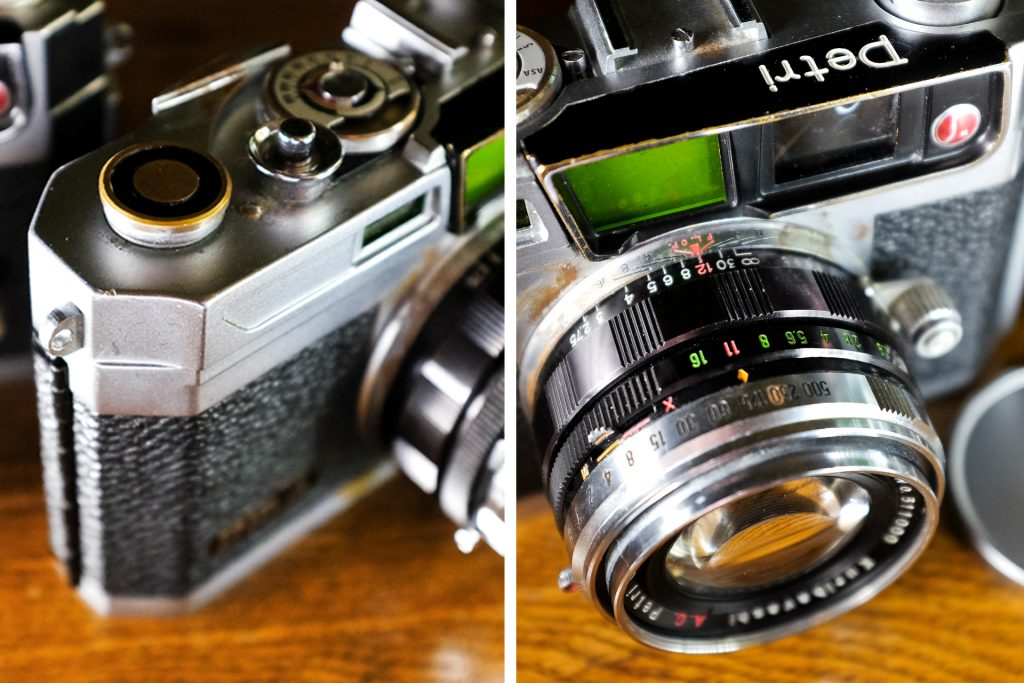 design details of the Petri 1.9 Color Corrected Super Type III