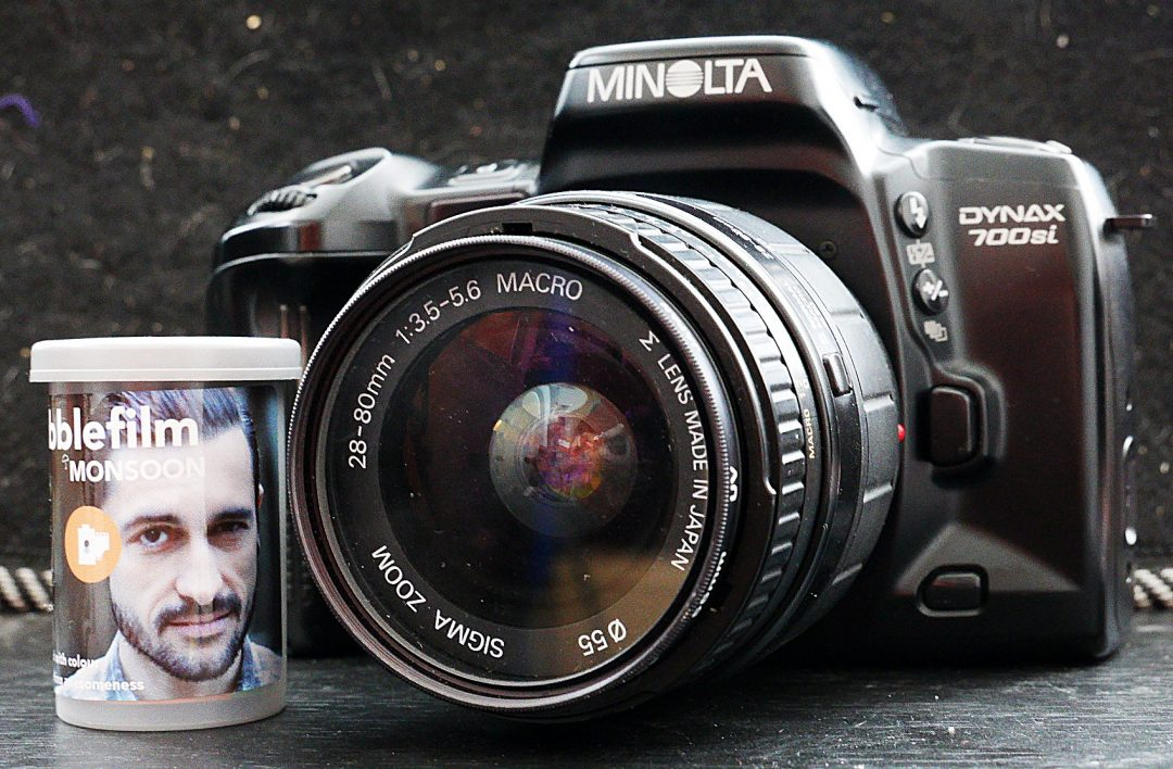 5 Frames With A Minolta 700si And Roll Of Dubblefilm Monsoon By Nigel Cliff