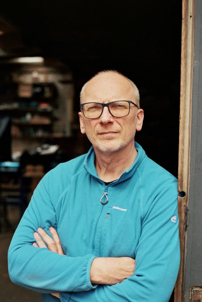 Gary Cook, proprietor of Cook Joinery, Hackney