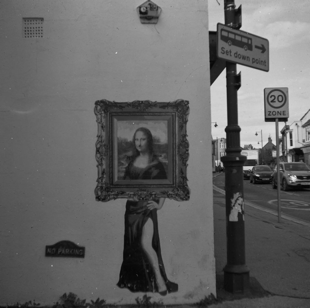 Mona Lisa Street Art