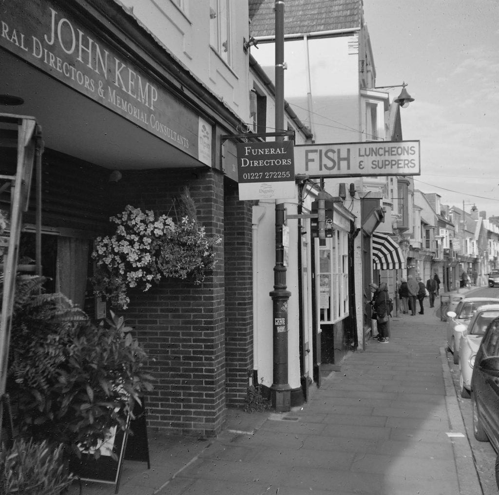 High St shops, Whitstable