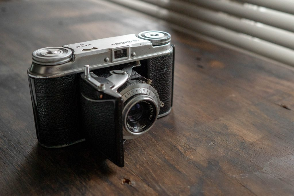 A fully manual film camera