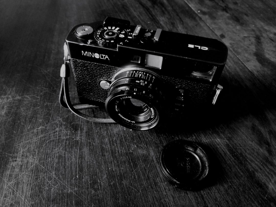 5 Frames With Minolta Cle And Rokkor 40mm F2 By Florent Pinsault