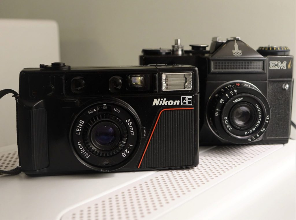 Hacking Nikon L35AF 'Pikaichi' lens into the body of an