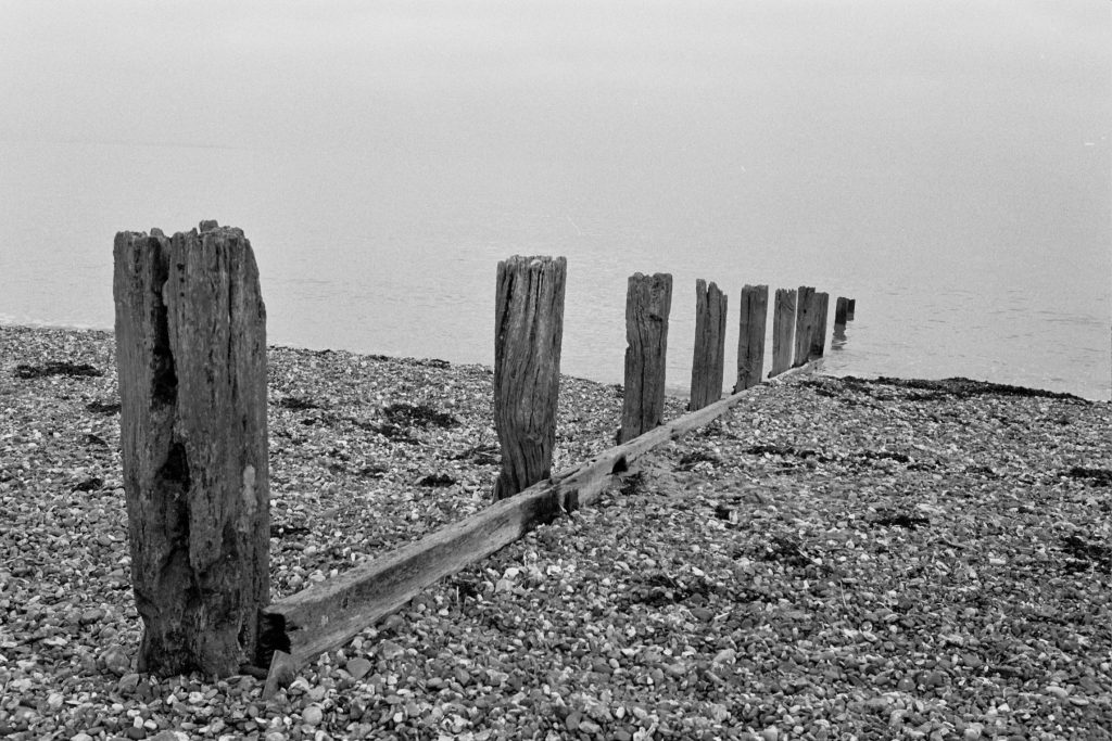 Breakwater at Seasalter, Kent