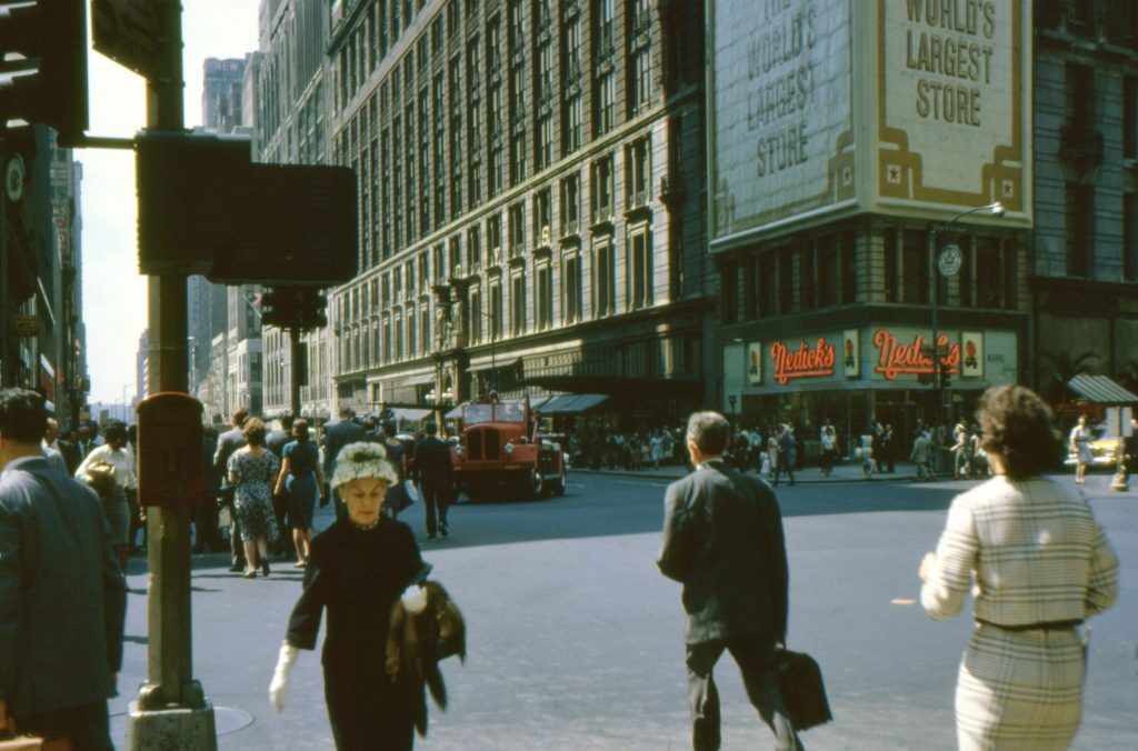 1960s New York. Dad's slides scanned - by Charles Higham