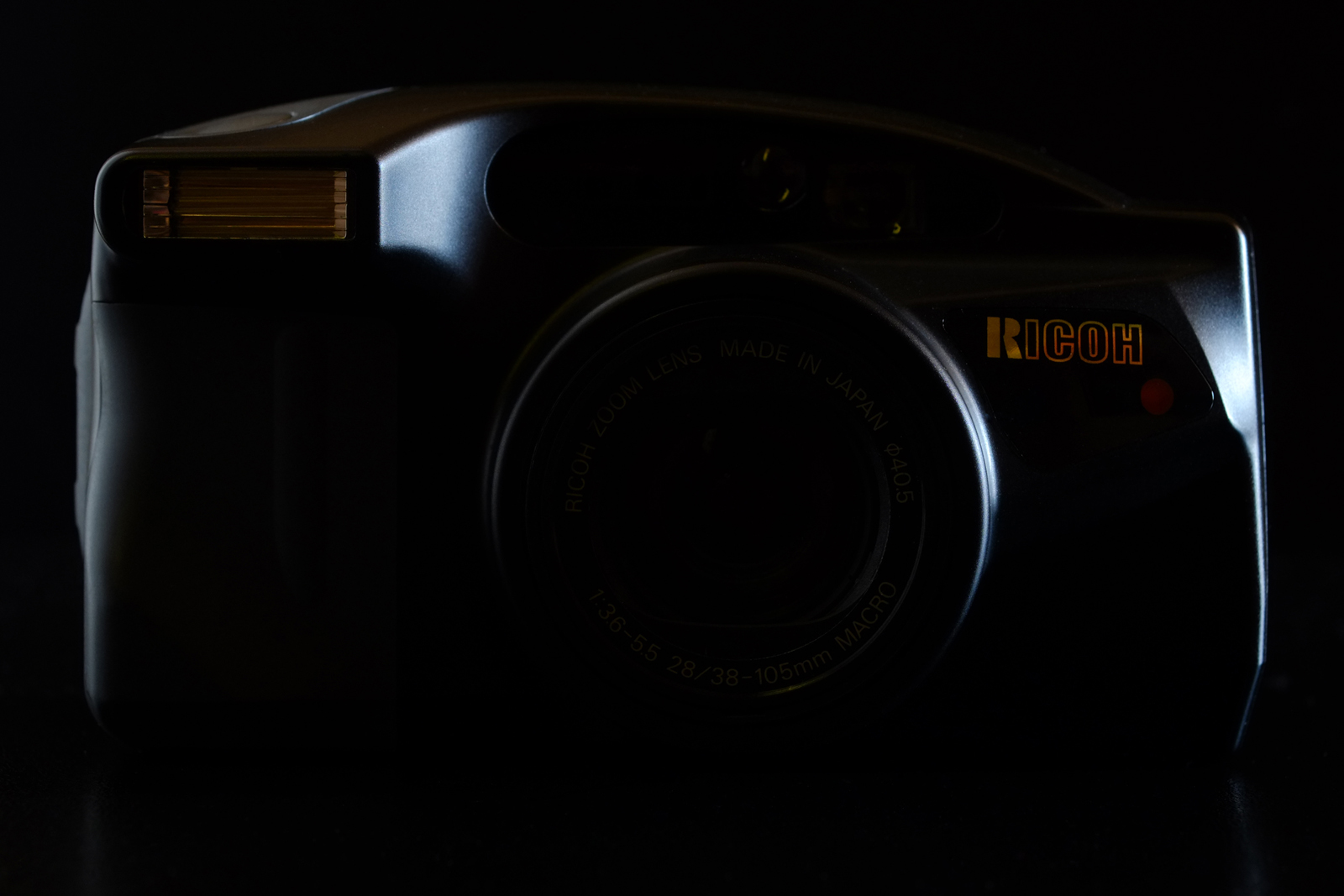 Ricoh RZ-105 Zoom Date