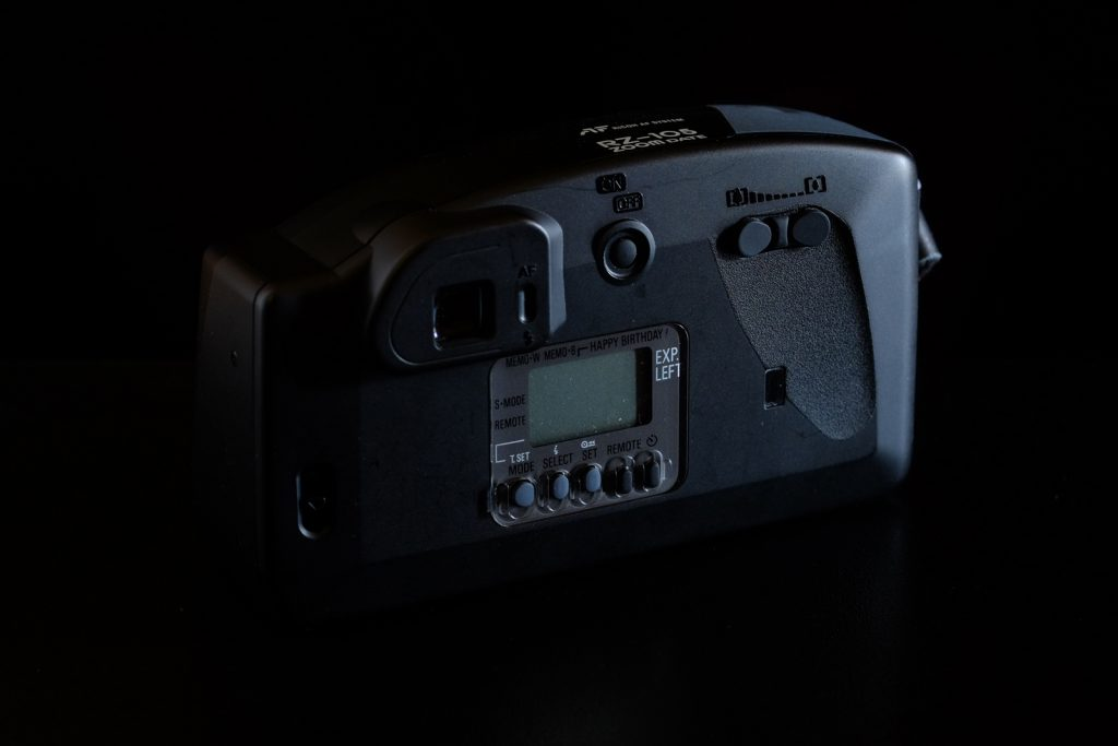 Ricoh RZ-105 Zoom Date rear view