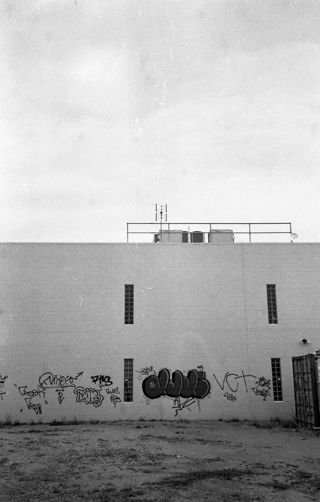 photo of graffiti made with Ricoh Shotmaster Zoom Super Date