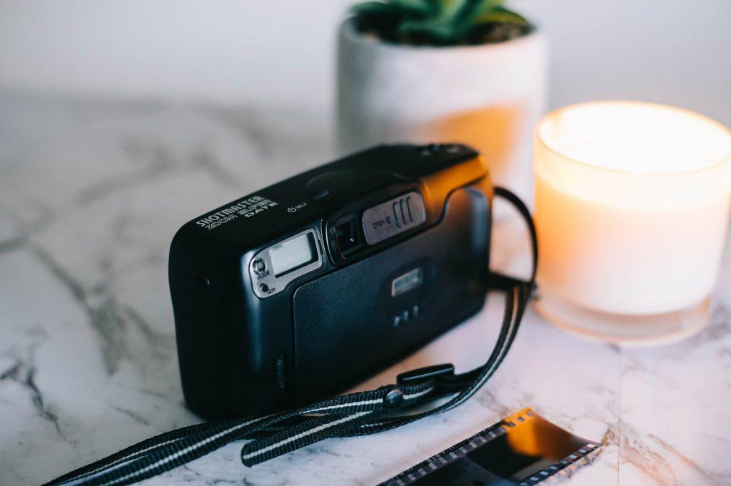 Ricoh Shotmaster Zoom Super Date camera