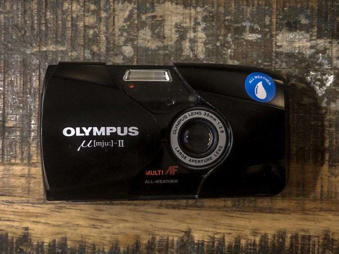 The Olympus mju-ii - great camera, but too expensive for