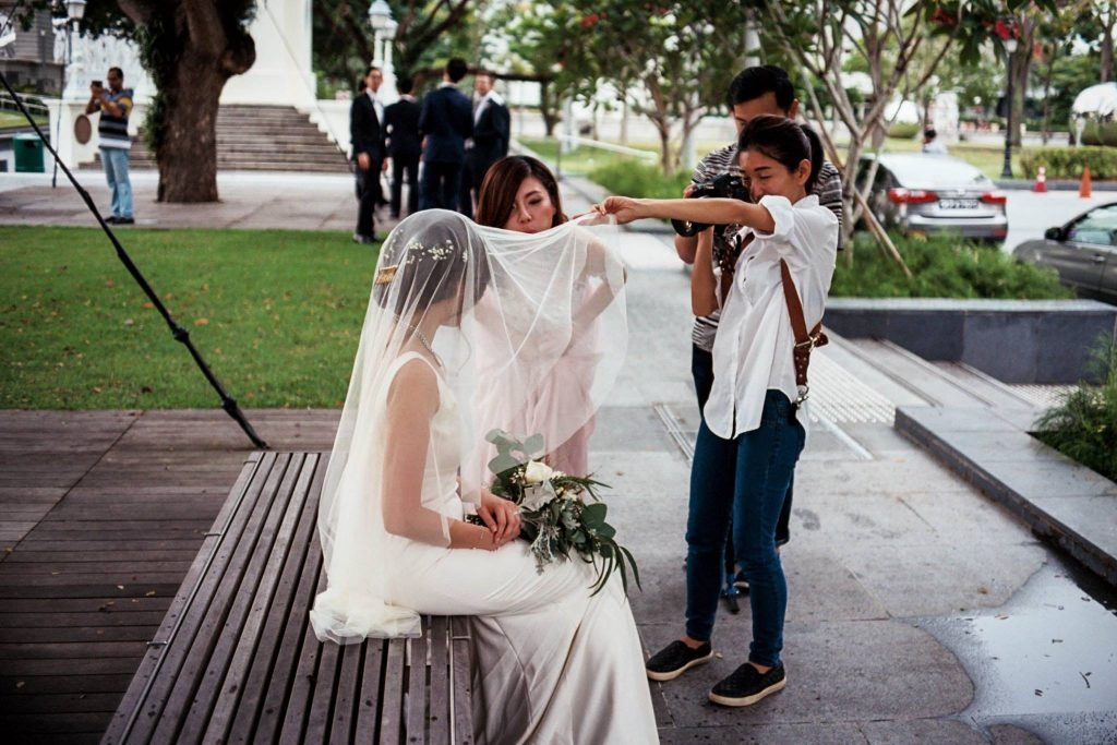 Wedding photo with Konica Hexar AF