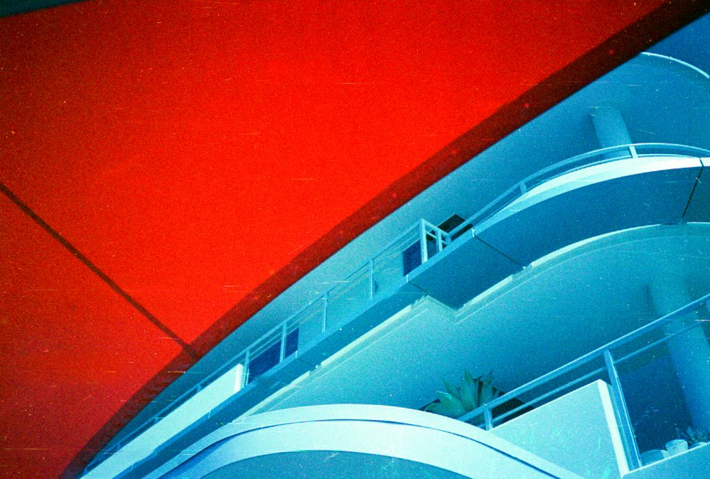 Expired film photographed with National (Panasonic) C-500AF
