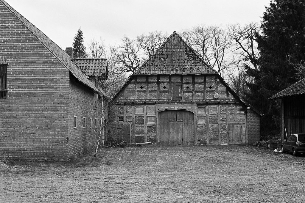 Abandoned farmhouse found in northern Germany.