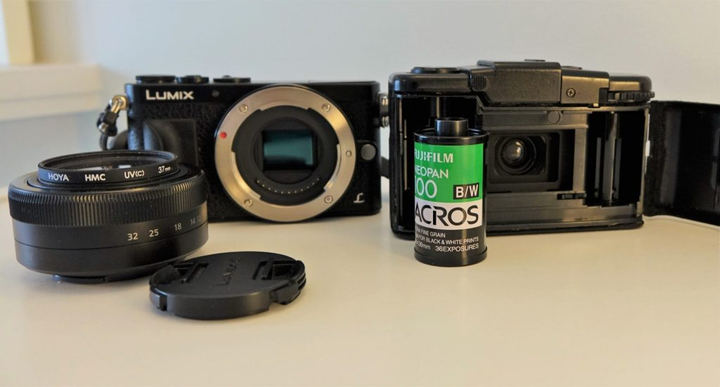 Panasonic GM1 and Olympus XA2 comparison