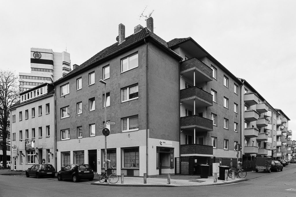 Post-war residential house in central Hannover, Germany.