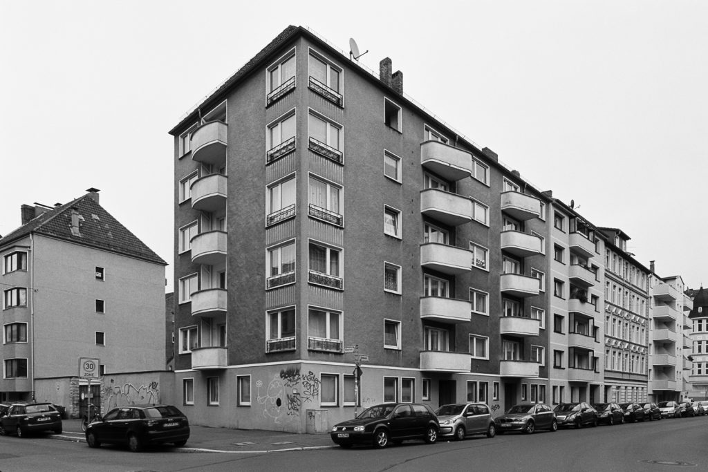 Apartment building from the 1960s in Hannover.