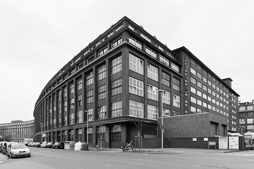 Factory building of Continental (ContiTech) located at Vahrenwald quarter in Hannover, Germany.