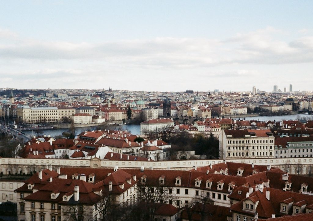 Prague city view with the Olympus Pen EE-3