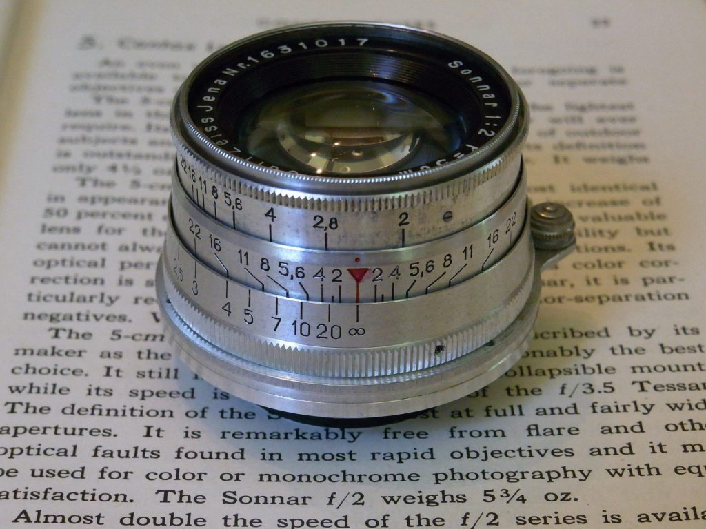 1934 Carl Zeiss Jena 5cm F2, converted to Leica Mount