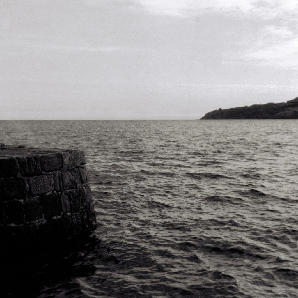 jetty sea and land 5 Frames with an AGFA Isolette