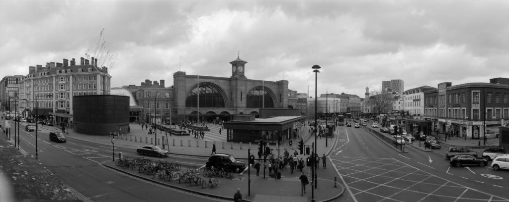 King's Cross from St Pancras