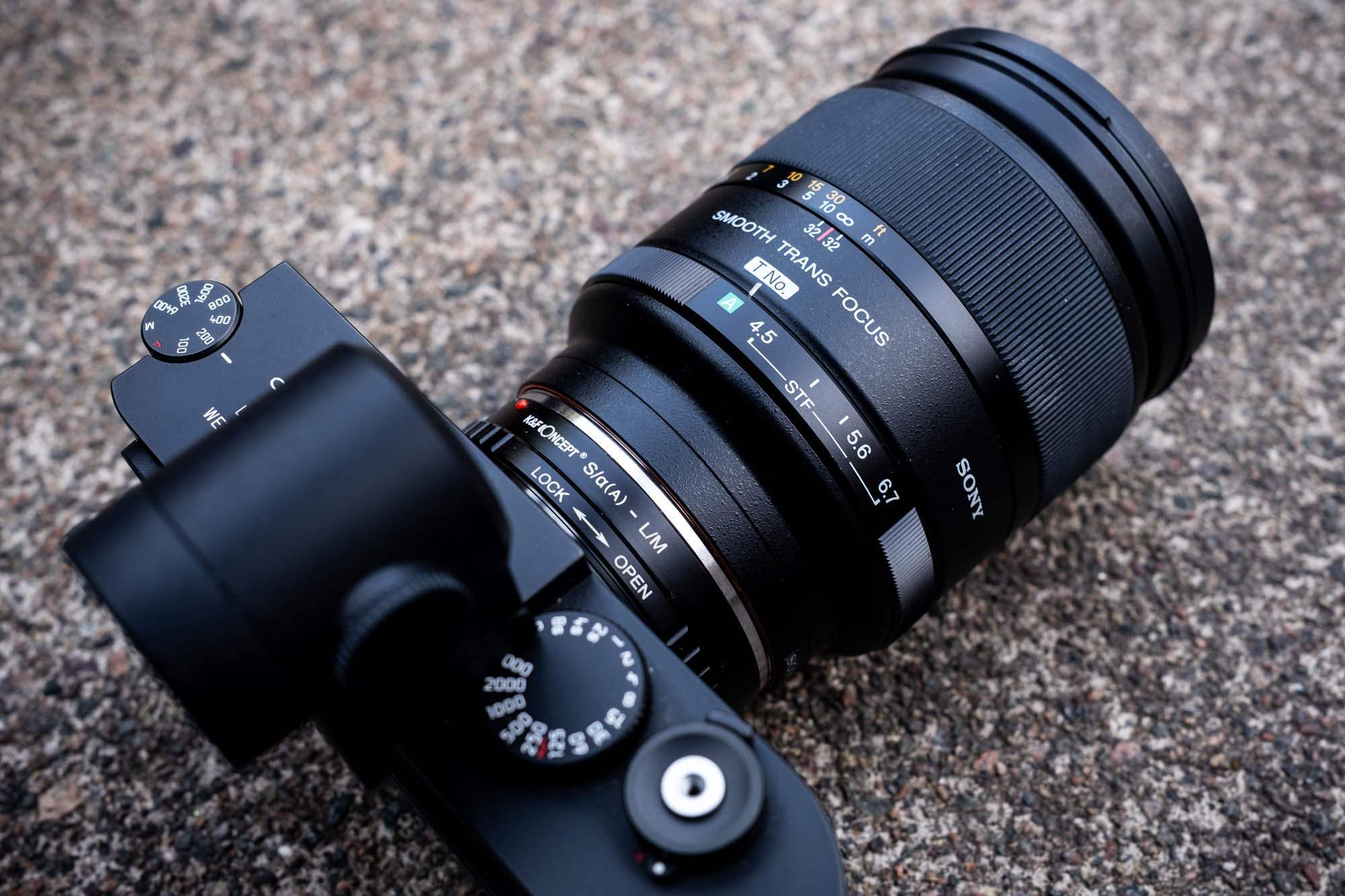 Sony 135mm STF